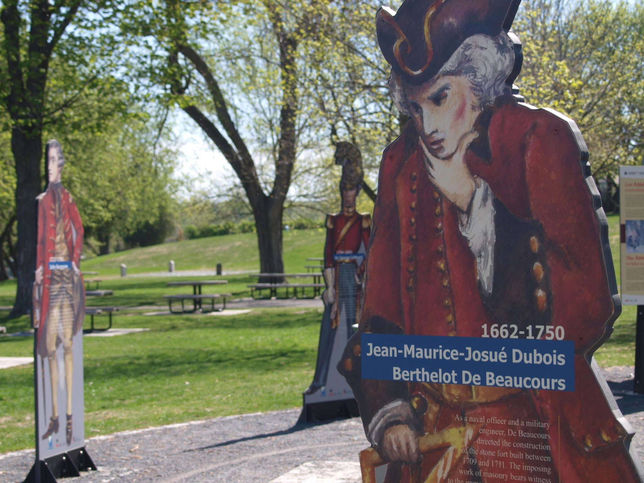 Fort Chambly - Parcours historique