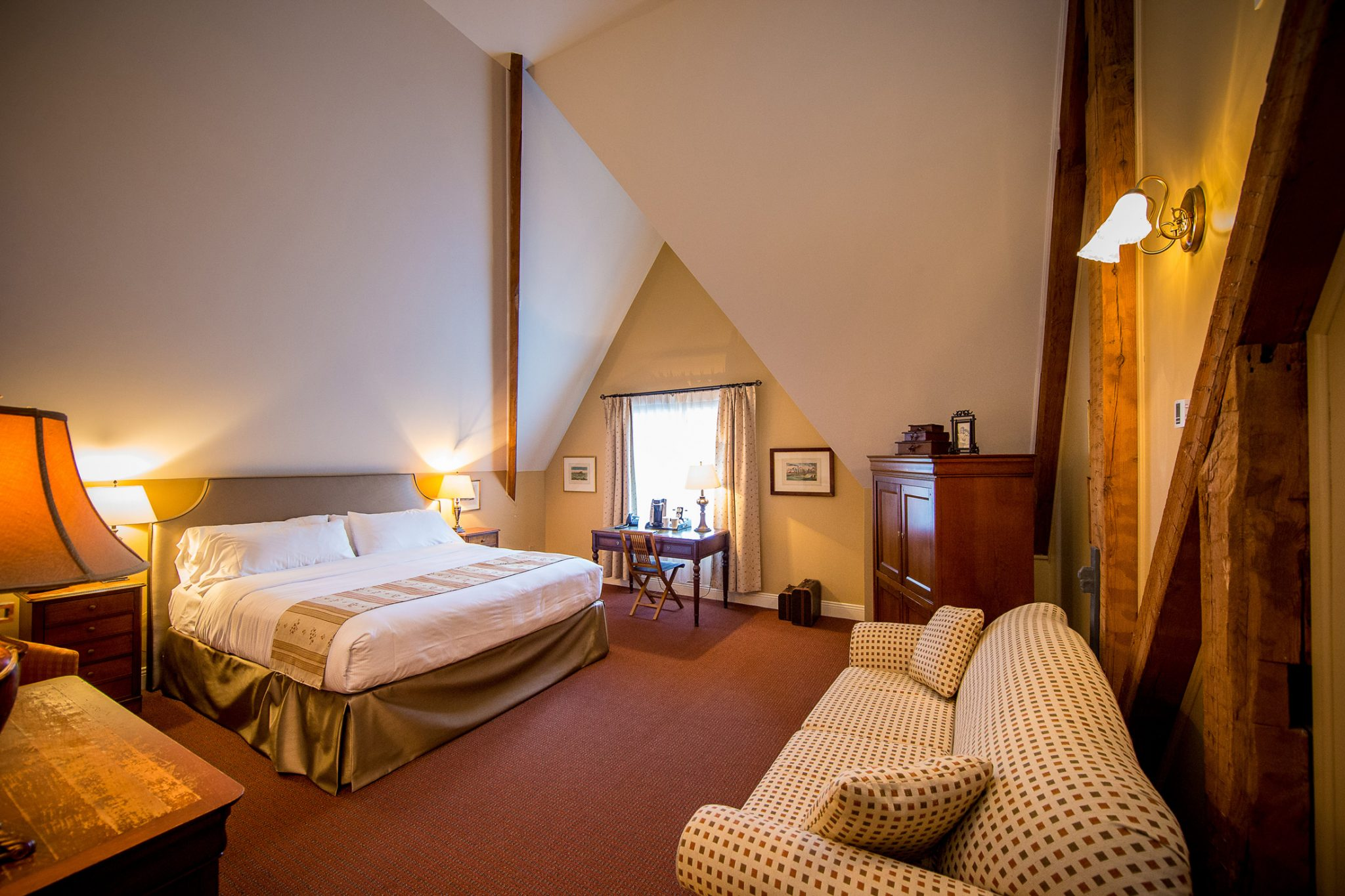 Manoir Rouville Campbell - Chambre